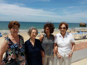 Los mayores de FUNDOMAR Bermejales visitan Matalascañas